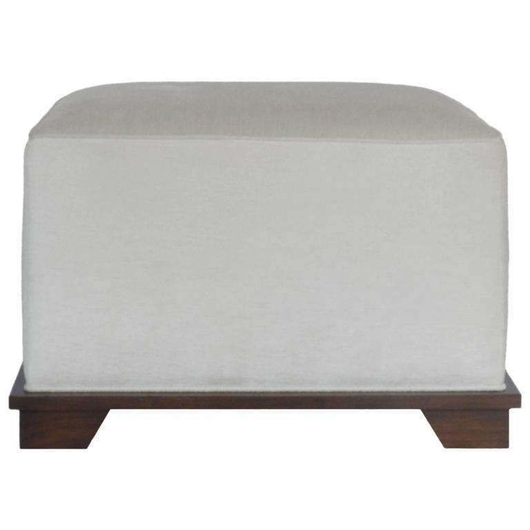 NBS Custom Upholstered Ottoman