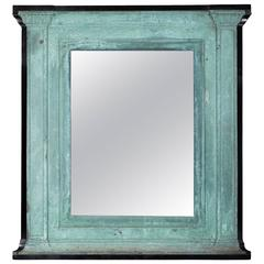 Bronze Mirror with Ebonized Surround