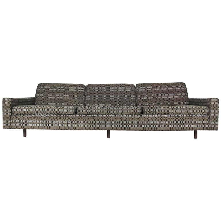 Impressive Mid-Century Sofa by Harvey Probber