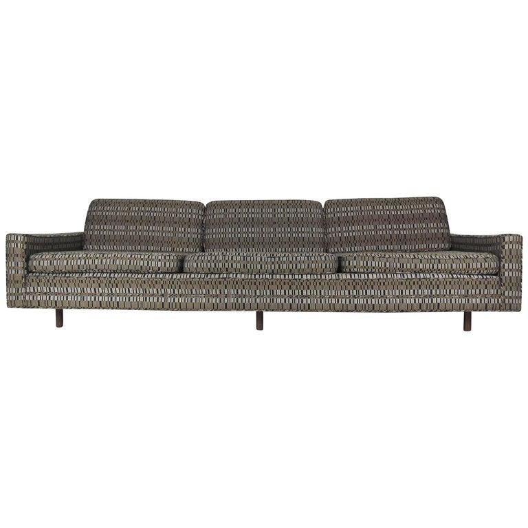 Impressive Mid-Century Sofa by Harvey Probber