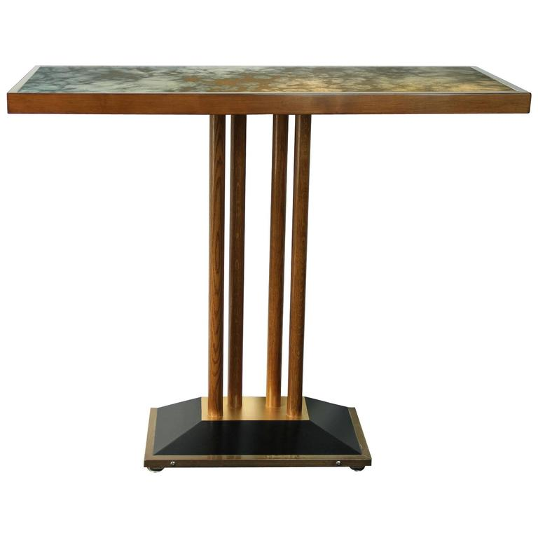 Elegant Console Table from Drouant Restaurant,