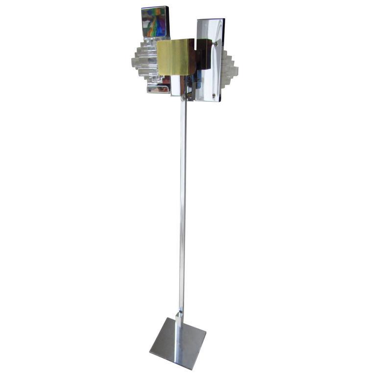 Floor Lamp by Gaetano Sciolari, Italy, 1960s