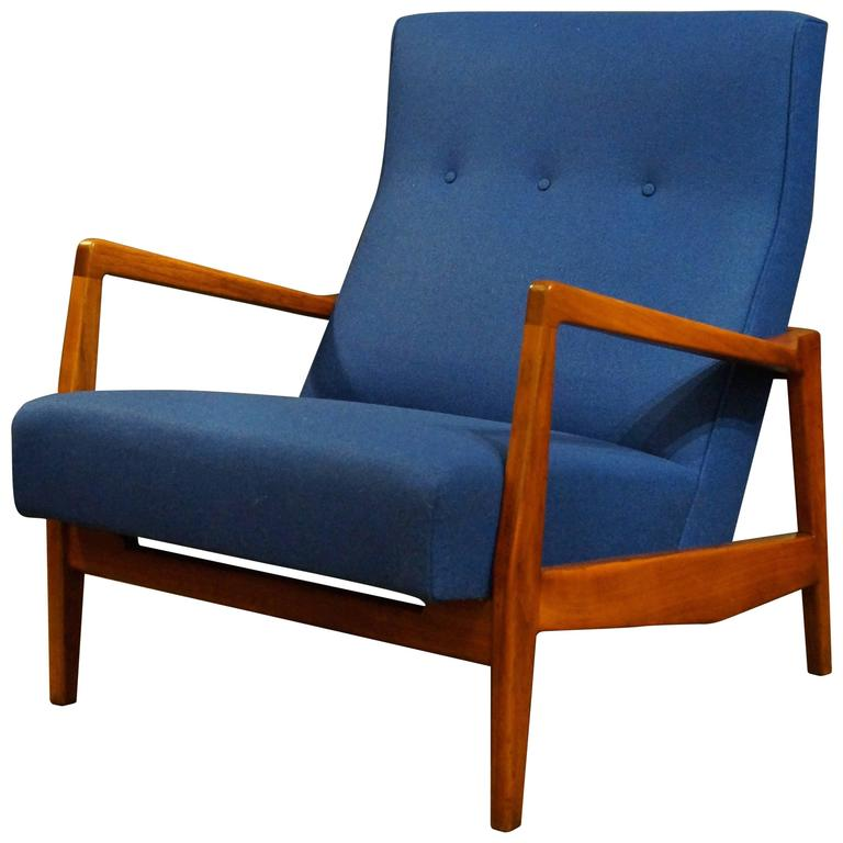 Jens Risom High Back Lounge Chair For Sale At 1stdibs