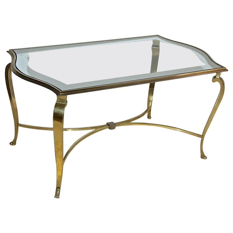 Rare Maison Ramsay Bronze Cocktail Table