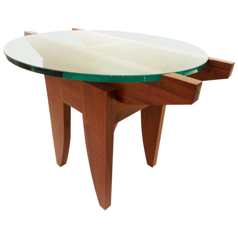 Angus j bruce zen mid century side table for sale at 1stdibs for Table design zen 5