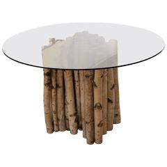 Maine Birch Base Table