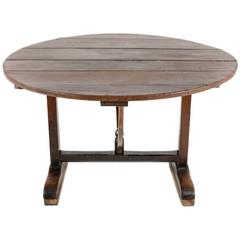 Early 19th Century Wine Table or Vintners Table from France. C.1800