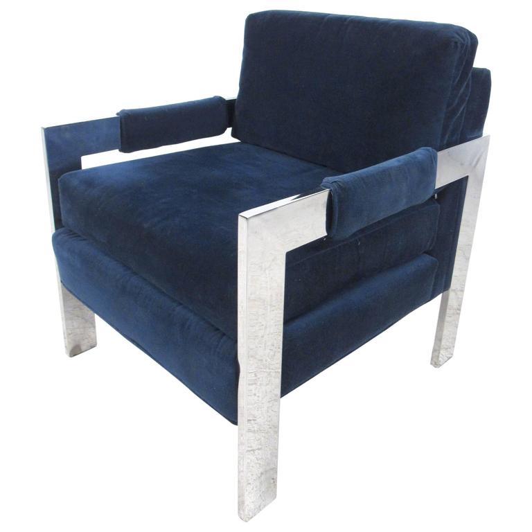 Vintage Modern Lounge Chair by Rowe