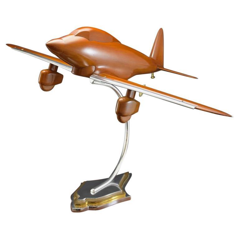 Walnut Wind Tunnel Aircraft Model, c1935