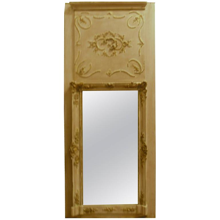 Antique Lacquered Mirror