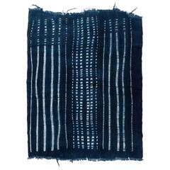 Vintage West African Indigo Wrap Textile