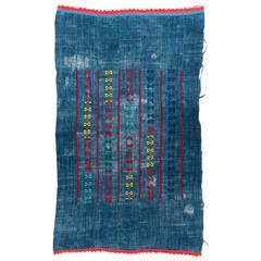 Denim Blue Dogon Wedding Wrap