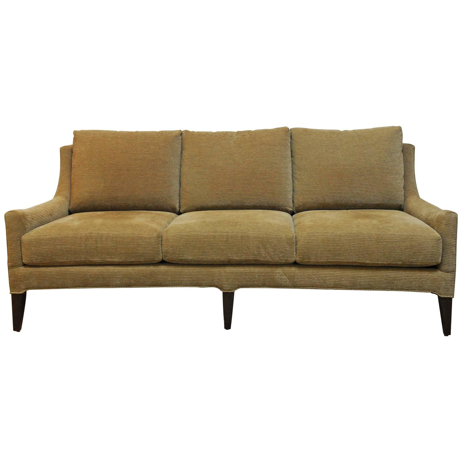 Mid century modern style sofa by kravet for sale at 1stdibs for Mid century style furniture