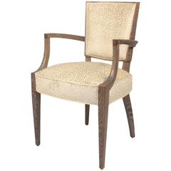 French 1940s Louis seize style armchair
