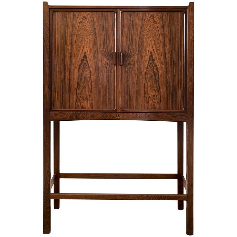 Small Freestanding Cabinet With Cedar Wood Interior By