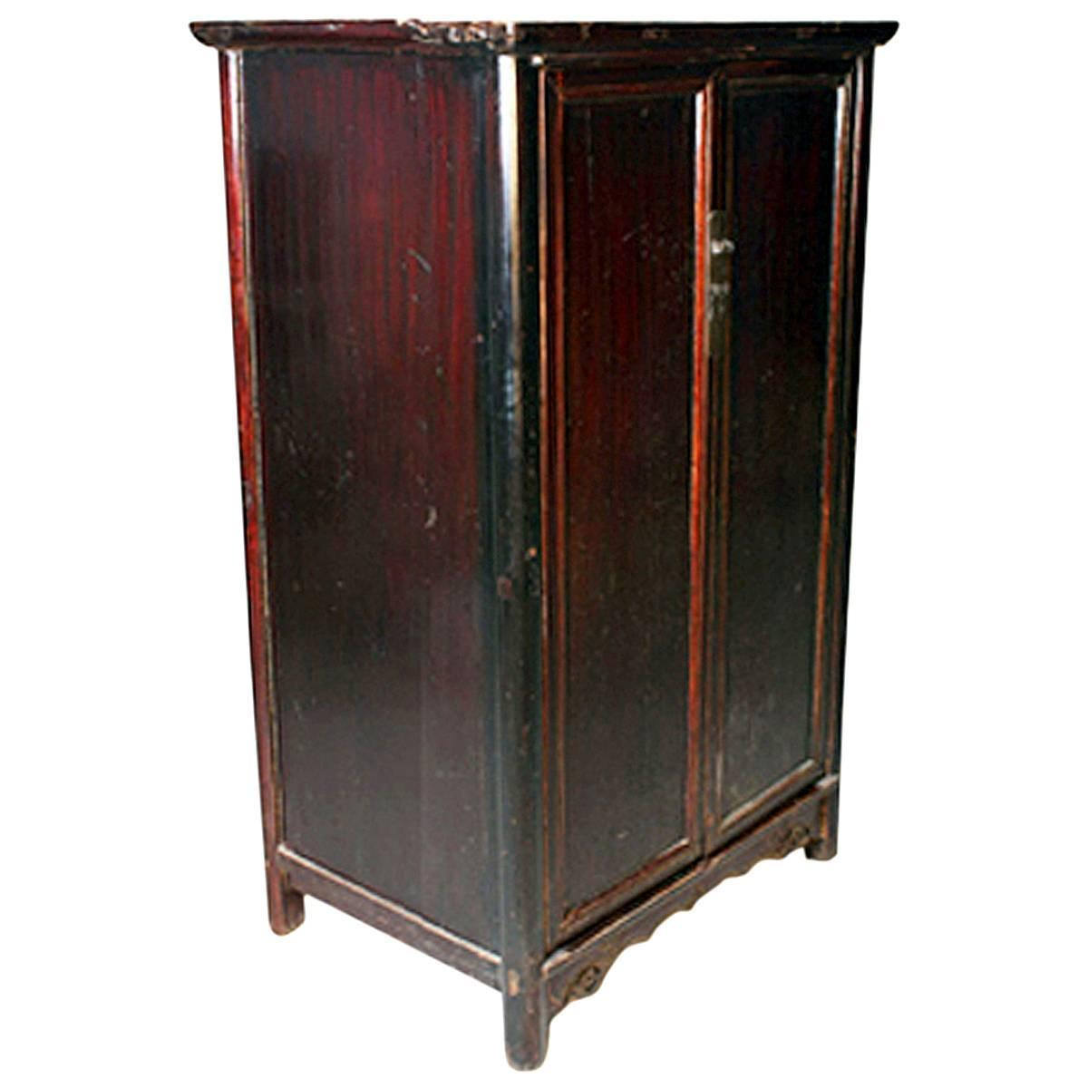 Compact Chinese Round Corner Cabinet For Sale At 1stdibs