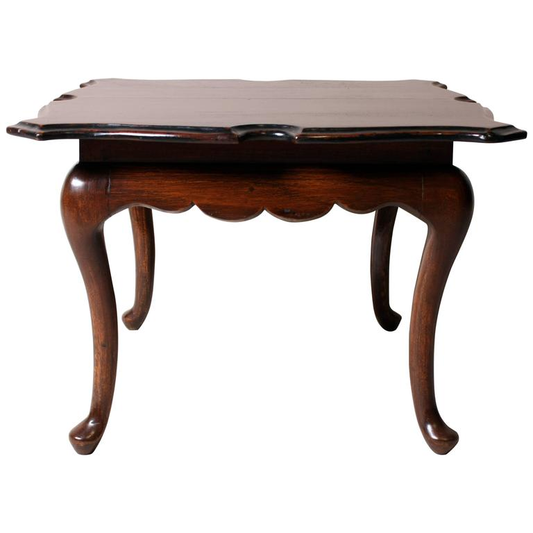 British Colonial Occasional Table Chinese Antique Tail