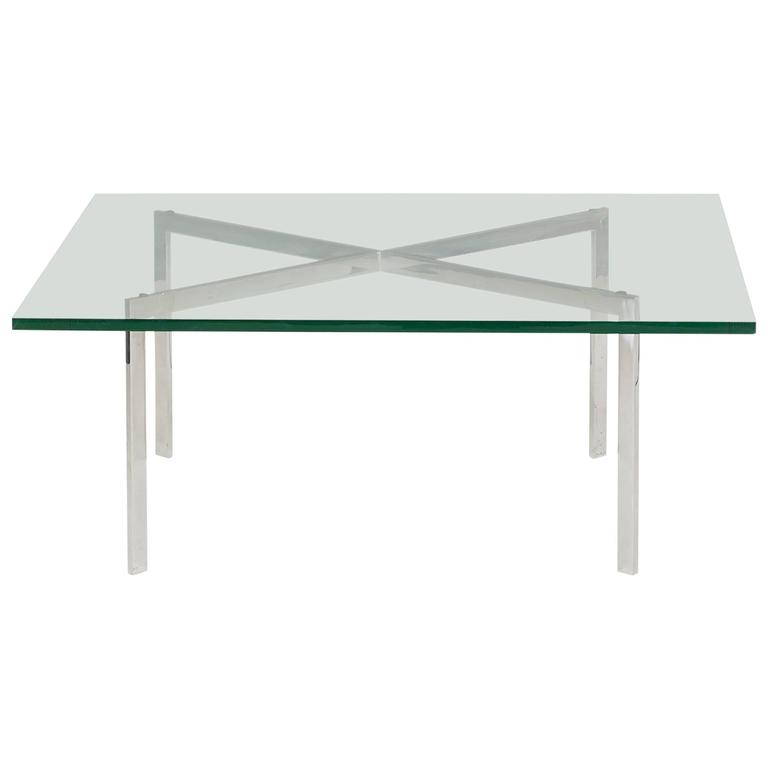 Barcelona Coffee Table By Ludwig Mies Van Der Rohe For Gerald R Griffith For Sale At 1stdibs