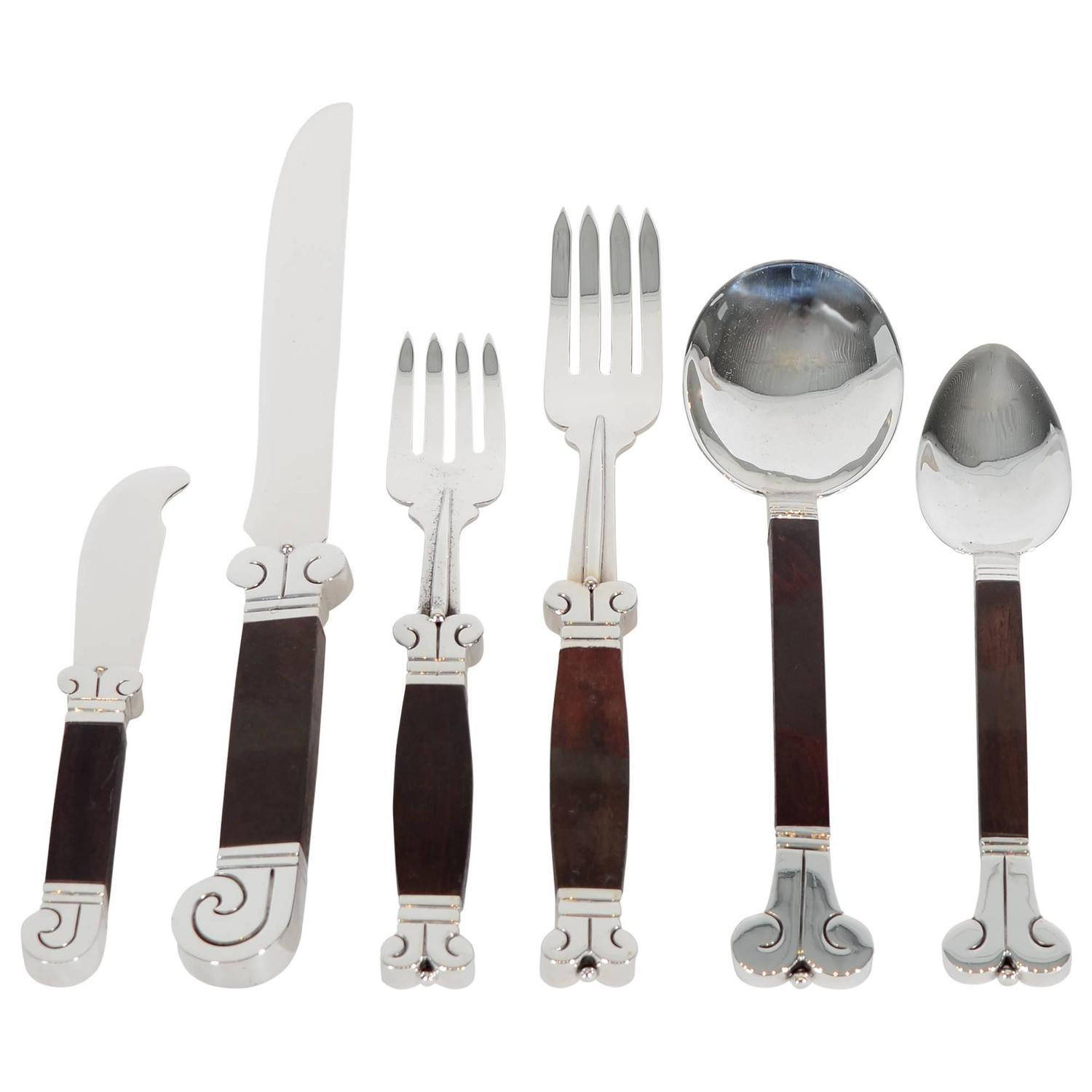 Hector Aguilar Aztec Flatware Set From A Unique