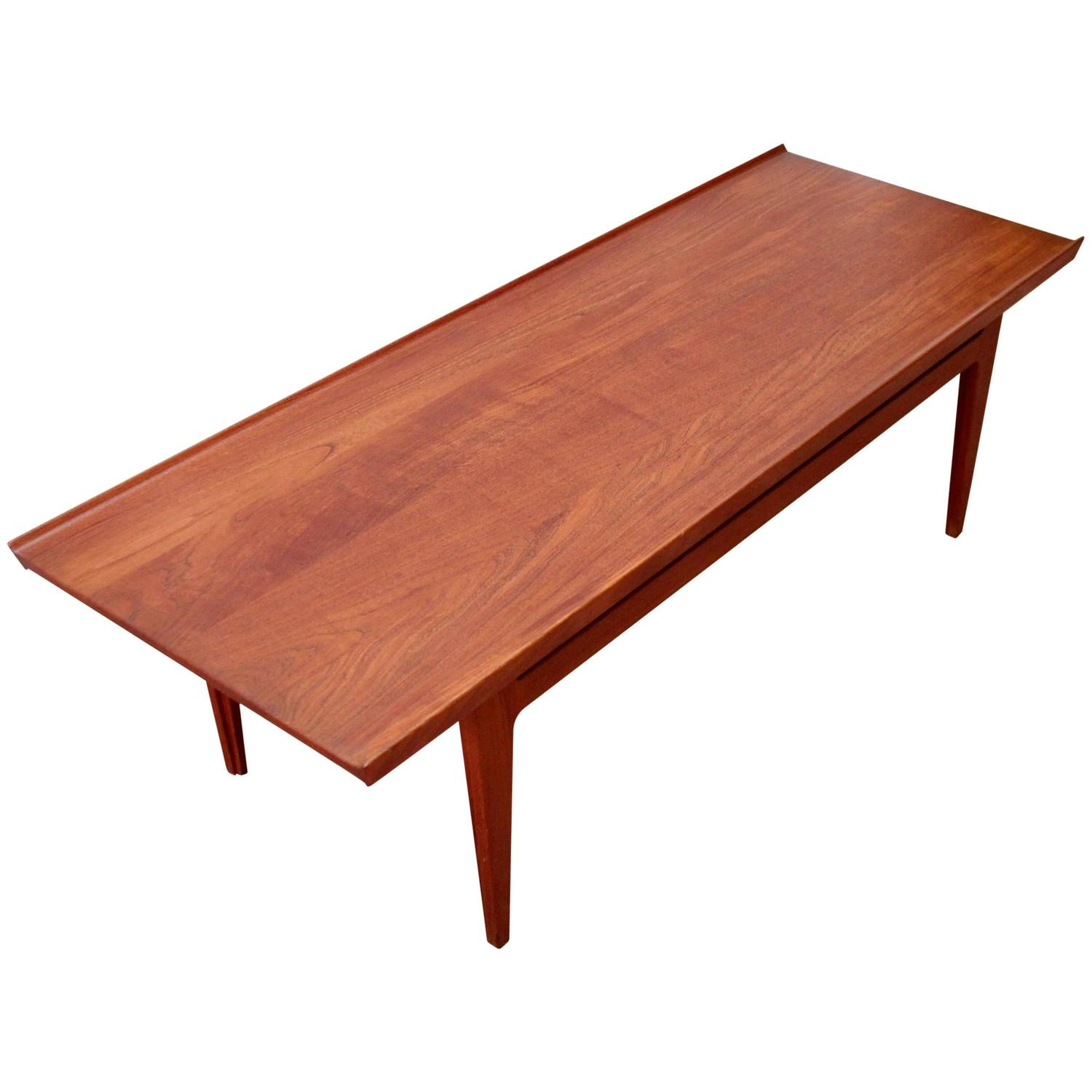 finn juhl danish coffee table at 1stdibs. Black Bedroom Furniture Sets. Home Design Ideas