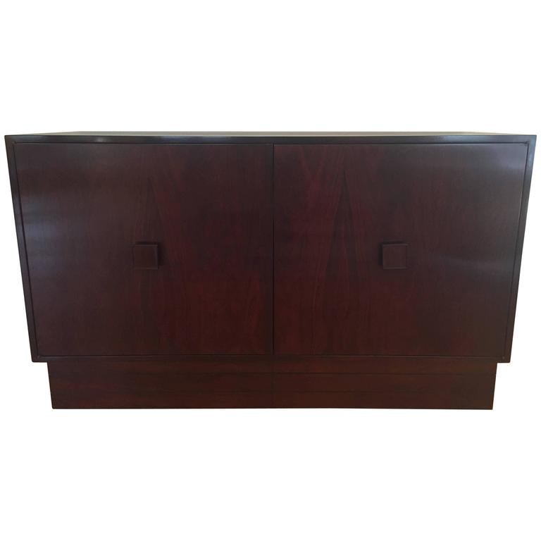 French Rosewood Two-Door Sideboard Cabinet