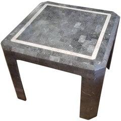 Maitland Smith Tessolated Stone Side Table