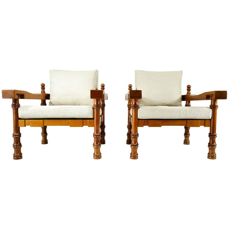 Pair of Mexican Armchairs in the Manner of Francisco  : 4077283l from www.1stdibs.com size 768 x 768 jpeg 25kB