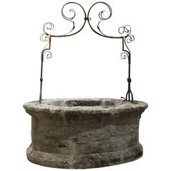 Antique Louis XIV Well from Uzes, France, Circa 1680