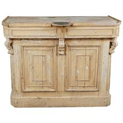 Original Painted Store Counter