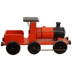 English Wooden Handmade Toy Train