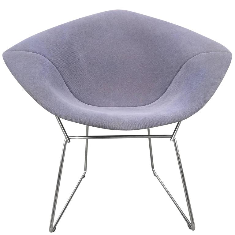 harry bertoia diamond lounge chair for knoll circa 1950 at 1stdibs. Black Bedroom Furniture Sets. Home Design Ideas