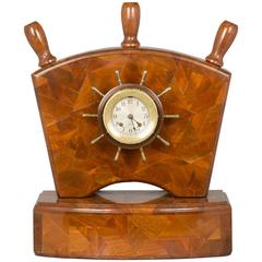 Nautical Chelsea Ship's Bell Clock