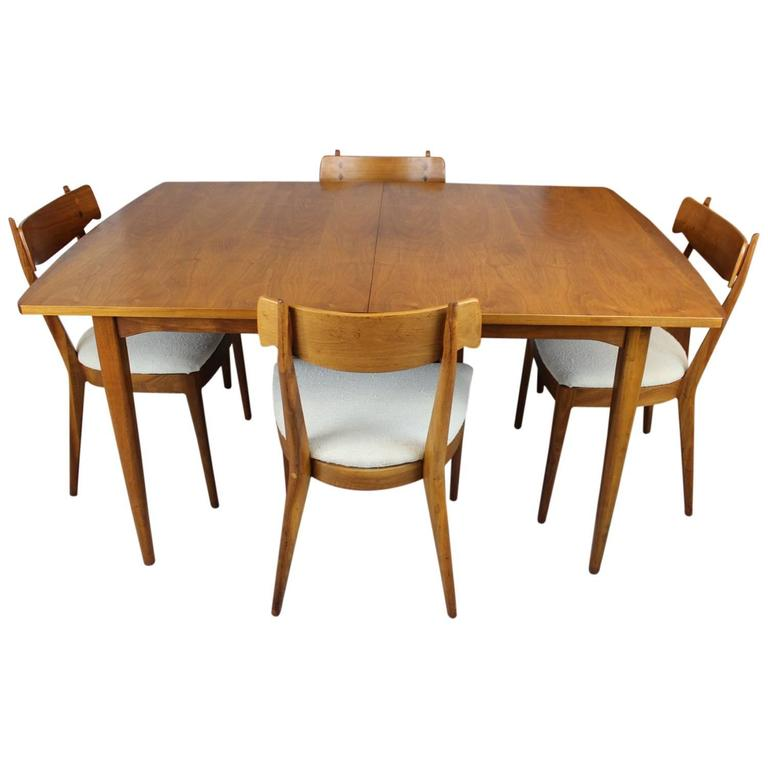 this kipp stewart dining table and chairs for drexel is no longer