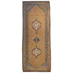 Early 20th Centuy Senneh Kilim Runner