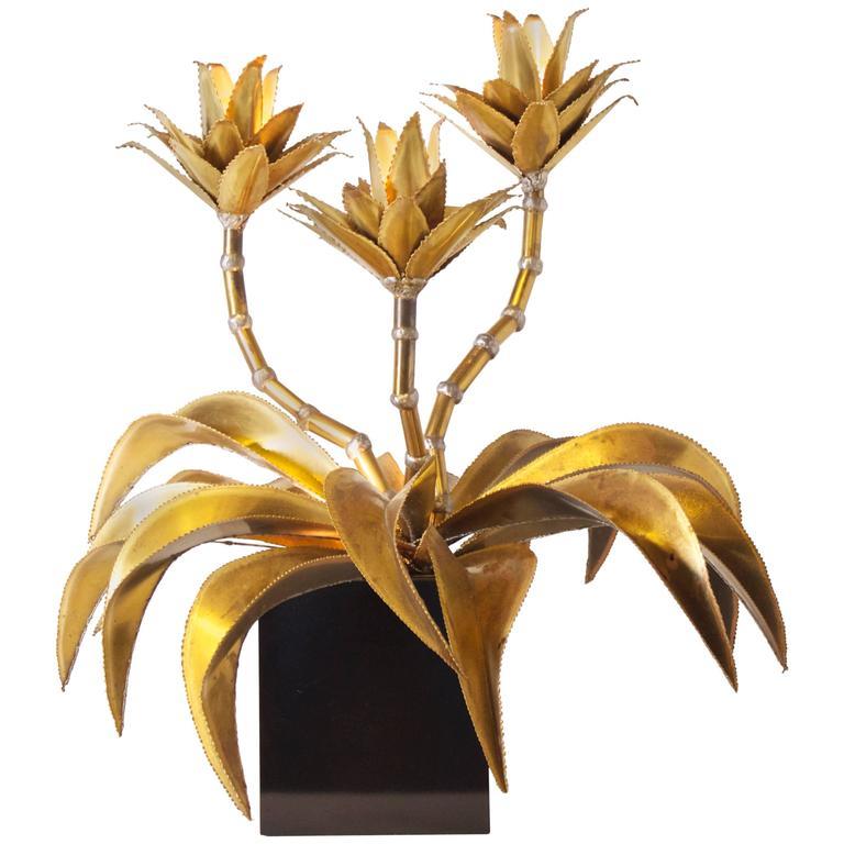 Stunning Brass Maison Jansen Table Lamp