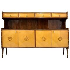 Mid century Modern Credenza Attributed to Melchiorre Bega