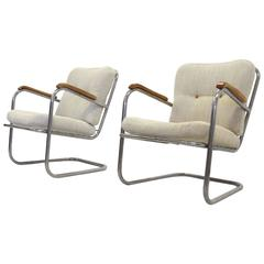 Functionalist Lounge Chairs