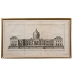 "French Engraving ""Institute de France"""