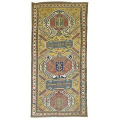 Antique Kazak Area Rug