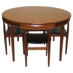 Six Chair Dining Set by Hans Olsen for Frem Rojle