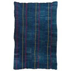Vintage African Dogon Indigo Wedding Wrap Textile