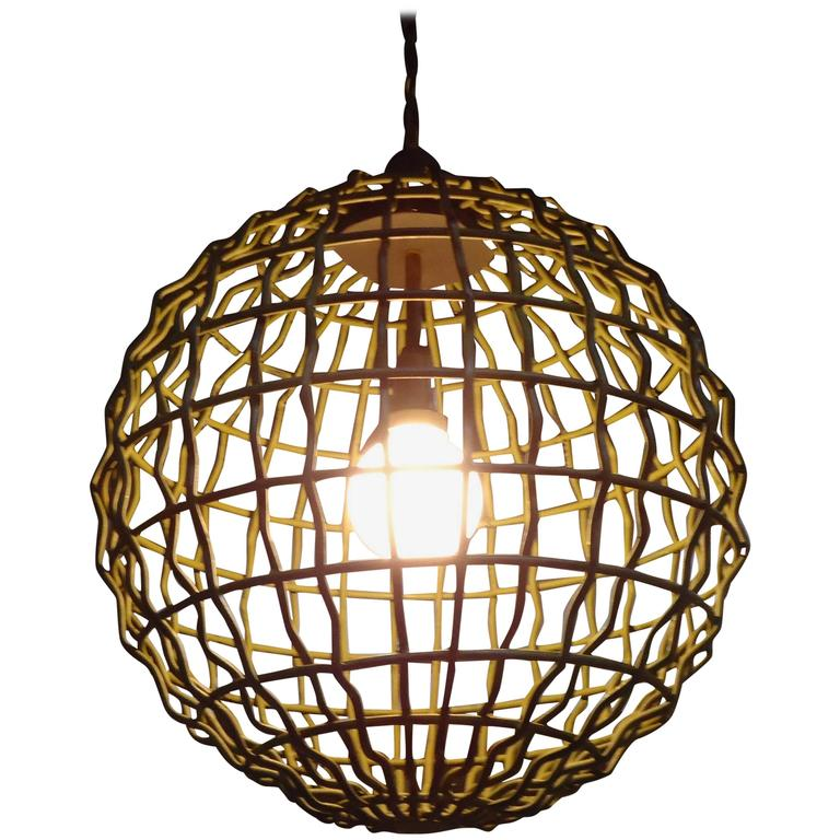 large orb chandelier - 28 images - fancy foucault s iron ...