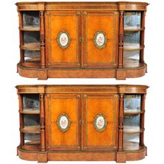 Pair of 19th Century Credenzas