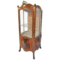 19th Century Sedan Style Vitrine