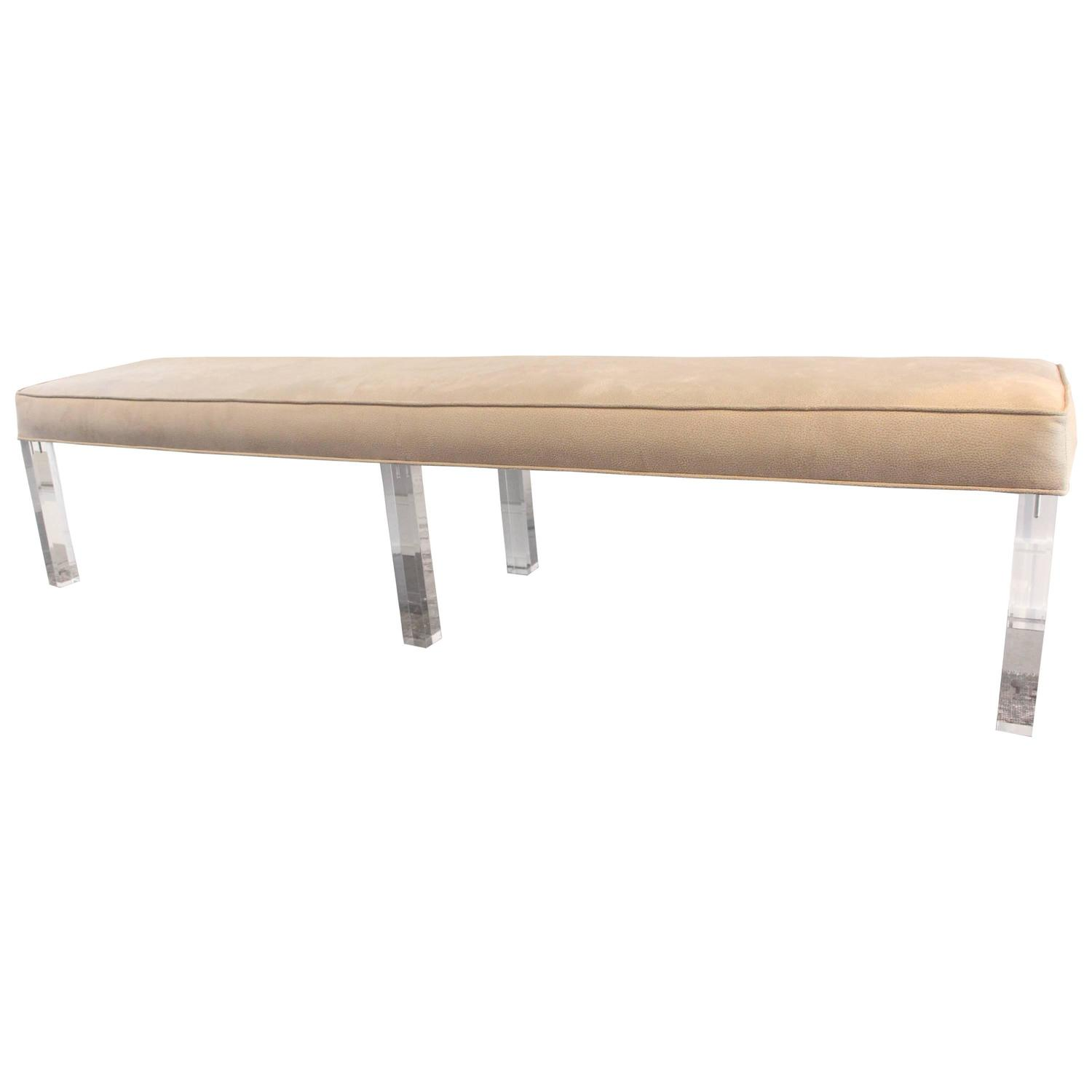 Lucite Benches 28 Images Modern Lucite Bench With Mohair Cushion At 1stdibs Lucite Bench By