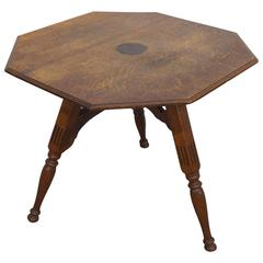 19th Century Dutch Folding Three-Legged Table