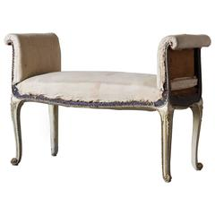Antique Louis IV Style French Banquette