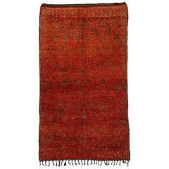 Vintage Beni M'Guild Moroccan Rug with Tribal Style, Berber Moroccan Rug