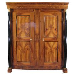 19th Century Biedermeier Armoire