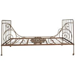 19th Century French Campaign Bed
